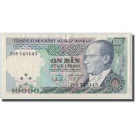 Billet, Turquie, 10,000 Lira, L.1970, 1970-01-14, KM:200, TTB - Turquie