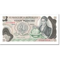 Billet, Colombie, 20 Pesos Oro, 1982, 1982-01-01, KM:409d, NEUF - Colombie