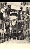 Cp Genova Liguria, Via Madre Di Dio E Ponte Carignano, Wäscheleinen - Altri