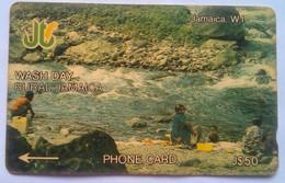 5JAMJ Wash Day Rural Jamaica J$50 - Jamaïque
