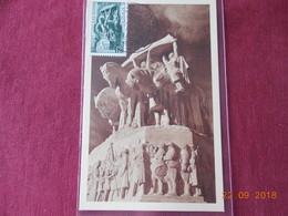 Carte D Algerie Francaise De 1952 (Congres National Des Sous Officiers De Reserve) - Algeria (1924-1962)
