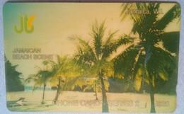7JAMF Jamaican Beach Scene J$20  MINT - Jamaica