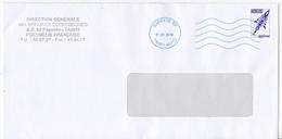 Polynésie Française / Tahiti - 1 Enveloppe / Direction Des Affaires économiques En 2018 / Papeete - Polynésie Française
