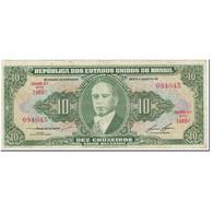 Billet, Brésil, 10 Cruzeiros, 1953, Undated (1953), KM:159d, TTB - Brésil
