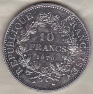 10 FRANCS HERCULE 1970 , En Argent / Silver - K. 10 Francs