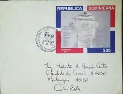O) 2013 DOMINICAN REPUBLIC, JUAN PABLO DUARTE-FOUNDING AND ARCHITEC ITS INDEPENDENCE FRON HAITIAN IN 1844. CAMARA DE COM - Dominicaanse Republiek