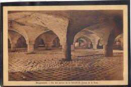 1246. ROQUEFORT. UN DES SALOIRS DE LA SOCIETE. CAVE DE LA RUE  . RECTO/VERSO . - Roquefort