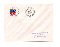 AMBULANT LYON à SETE 12/12/1969 - Marcophilie (Lettres)