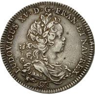 France, Jeton, Louis XV, Chambre De Commerce De Rouen, 1719, TTB+, Argent - Other