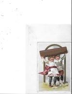 CHROMOS  CHOCOLAT SUCHARD  1 CHROMO   2ENFANTS ET BATON CHOCOLAT    N 53 - Suchard