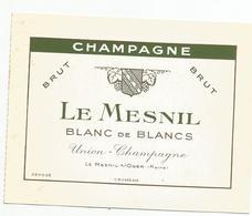 Tarifs  Champagne  Le Mesnil    Le Mesnil Sur Oger  51 Prix Courant 02 .1969 - Publicités