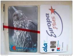 MINT In Blister EAGLE Chip Cards Cartes Karten From KYRGYZSTAN Kirghizistan Kirgisistan. Bird Oiseaux Vogel Aigel Adler - Kirgizië
