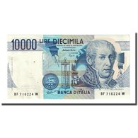 Billet, Italie, 10,000 Lire, 1984-09-03, KM:112c, SUP - [ 2] 1946-… : Républic