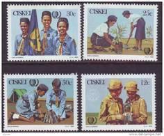 D10602 Ciskei South Africa 1985 Scouts Girl Guides Set MNH - Afrique Du Sud Afrika RSA Sudafrika - Ciskei