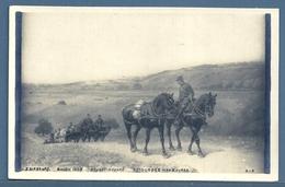 CPA - SALON 1902 - RETOUR DES MANOEUVRES (BRUNET-HOUARD) - Peintures & Tableaux