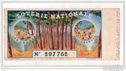 FRANCE . LOTERIE NATIONALE . 100 FRANCS XIIIe TRANCHE 1941 - Réf. N°4893 - - Lottery Tickets