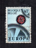 Belgio - 1967 - Europa  CEPT - Usato - (FDC12038) - Europa-CEPT