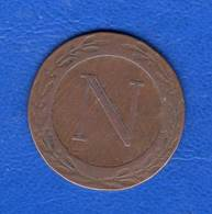 5 Cts  Rare  1808  Bb  Gadoury  127 - France
