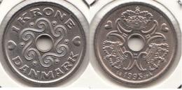 Danimarca 1 Krone 1995 KM#873.1 - Used - Denmark
