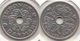 Danimarca 2 Kroner 1992 KM#874.1 - Used - Danimarca