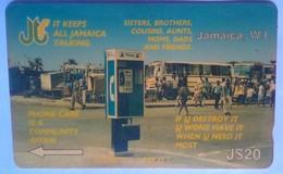 12JAMA Public Phone J$20 - Jamaica
