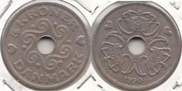 Danimarca 5 Kroner 1990 KM#869.1 - Used - Denmark