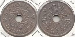 Danimarca 5 Kroner 1990 KM#869.1 - Used - Danimarca