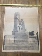 ANNEES 20/30 LE MONUMENT DE LOUISE DE BETTIGNIES NOUVEAU BOULEVARD DE LILLE - Collections
