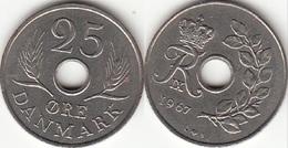 Danimarca 25 Ore 1967 (C ♥ B) KM#855.1 - Used - Danimarca