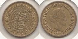 Danimarca 10 Kroner 1990 KM#867.2 - Used - Denmark