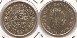 Danimarca 20 Kroner 1996 KM#878 - Used - Danimarca
