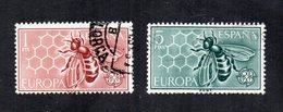 Spagna - 1962 - Europa  CEPT - 2 Valori - Usati - (FDC12041) - Europa-CEPT