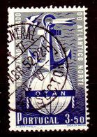 Portogallo-A-0091 - Emissione 1952 (o) Used - Senza Difetti Occulti. - 1910 - ... Repubblica