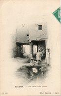 ALGERIE - BISKRA - 143 - Rue Arabe Dans L'Oasis - Phot. Leroux Alger - - Biskra