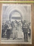 ANNEES 20/30 LE BEY DE TUNIS EN FRANCE KADDOUR BEN GHABRIT LUCIEN SAINT - Collections