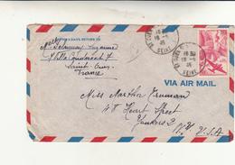 Saint Ouen To New York Cover 1946 - Francia