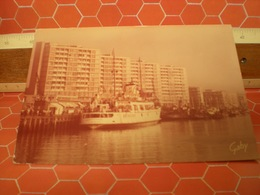 QUEEN OF THE CHANNEL BOULOGNE  FRANCIA CARTOLINA 1962 - Piroscafi
