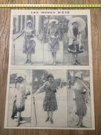 ANNEES 20/30 FEMMES ELEGANTES LES MODES D ETE - Collections
