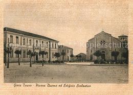 73280656 Gioia_Tauro Piazza Duomo Ed Edificio Scolastico - Italia