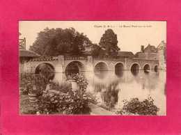 28 Eure Et Loir, Cloyes, Le Grand Pont Sur Le Loir, (Noulin) - Cloyes-sur-le-Loir