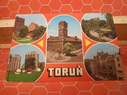 TORUN  POLONIA CARTOLINA 1981 - Polonia