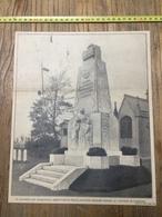 ANNEES 20/30 TOURCOING MONUMENT AUX MORTS TOURQUENNOIS AU CIMETIERE - Collections