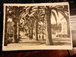 18912) ALBENGA GIARDINI PUBBLICI VIAGGIATA 1957 - Savona
