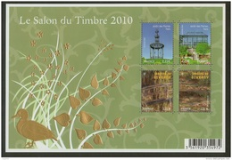 France-Salon Du Timbre 2010-Jardins De France-Feuillet N°130-Neuf** - Blocs & Feuillets