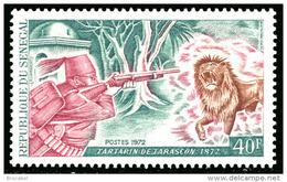Senegal 0366**  - Tartarin De Tarascon  MNH -----> X 4 - Sénégal (1960-...)