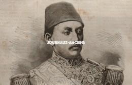 1872 TURQUIE MÉHÉMET MOURAD EFFENDI - COUPOLE DU SAINT SÉPULCRE - HOSPICE DES SOURDS - ARGENTEUIL - BOHÉMIENS - Journaux - Quotidiens