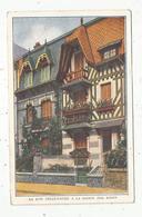Cp , 54 ,NANCY , La Rue Fêlix FAURE à La Saison Des Roses , Fleurs , Voyagée 1948 , Ed. Janville - Nancy