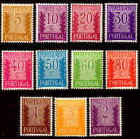 Portogallo-A-0101 - Emissione 1940 (+) Hinged - Senza Difetti Occulti. - Nuovi