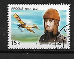 Russia  2012 The 125th Anniversary Of The Birth Of Pjotr N. Nesterov, 1887-1914   CTO - 1992-.... Federazione