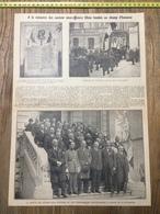 ANNEES 20/30 A LA MEMOIRE DES ANCIENS SOUS-OFFICIERS LILLOIS TOMBES AU CHAMP D HONNEUR - Collections